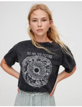 Zodiac Illustration T Shirt by Pull & Bear