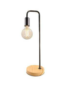 Mirabella Cleo Table Lamp   Black by Mirabella