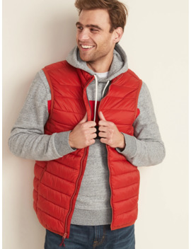 water-resistant-packable-puffer-vest-for-men by old-navy