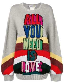Slogan Sweater by Stella Mc Cartney