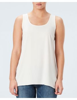 Perfect Length Top, Chiffon Tank by Spanx