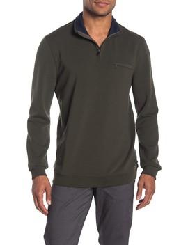 Leevitt Half Zip Tall Fit Sweater by Ted Baker London