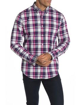 Plaid Slim Fit Shirt by J. Crew