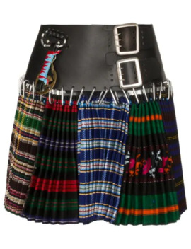 Multi Print Kilt Skirt by Chopova Lowena
