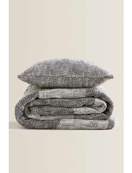 Cotton Bed Set by Zara