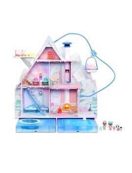 L.O.L. Surprise! Winter Disco Chalet Doll House With 95+ Surprises & Exclusive Family by L.O.L. Surprise!