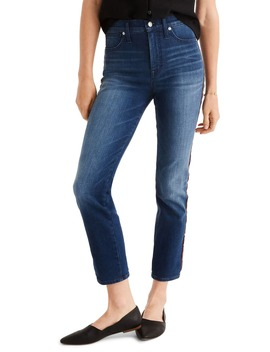 Tux Stripe Stovepipe Jeans by Madewell