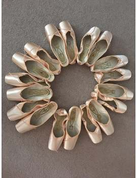 Unworn Freed Pointe Shoes To Use For Crafts Beautiful Satin Finish Professional Quality by Etsy