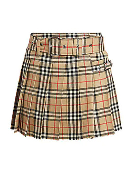 Carmen Check Mini Kilt by Burberry