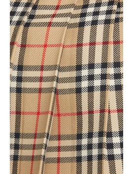 Carmen Vintage Check Pleated Wool Mini Kilt by Burberry
