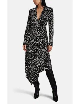 Eden Leopard Print Silk Dress by A.L.C.