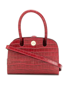 Crocodile Effect Mini Tote by Manu Atelier