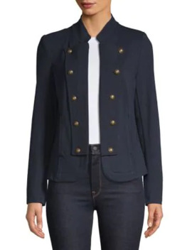 French Terry Band Jacket by Tommy Hilfiger