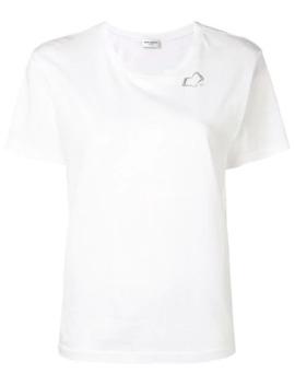 Sl Heart Print T Shirt by Saint Laurent