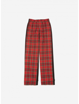 John Undercover Check Trouser   Red Check by Undercover