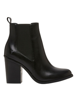 Lille Black Boot by Windsor Smith