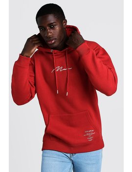 Man Limited Edition Loose Fit Hoodie by Boohoo