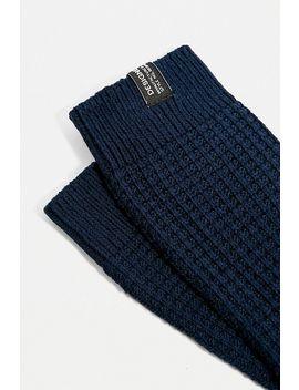 Urban Outfitters – 1er Pack Socken In Marineblau Mit Waffelstruktur by Urban Outfitters Shoppen