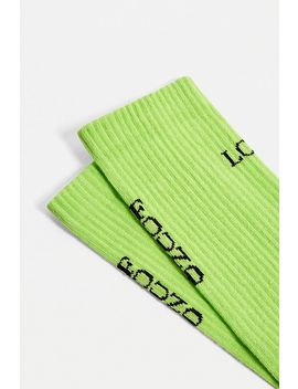 """Urban Outfitters– Socken """"Lost And Found"""" In Limettengrün by Urban Outfitters Shoppen"""