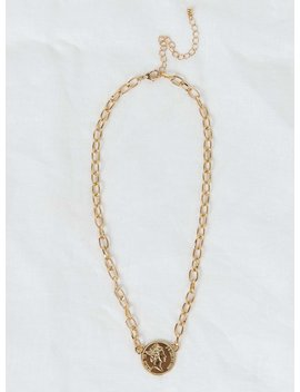 Josephine Coin Necklace by Princess Polly