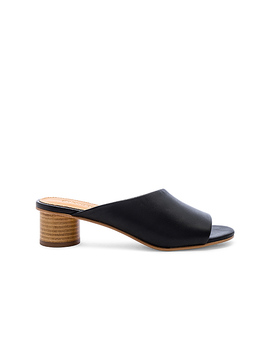 Milan Mule In Black by Soludos