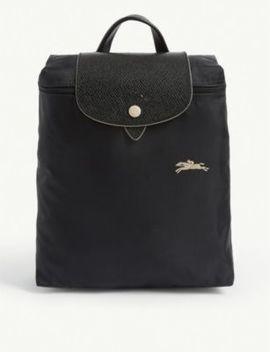 Le Pliage Club Foldable Nylon Backpack by Longchamp