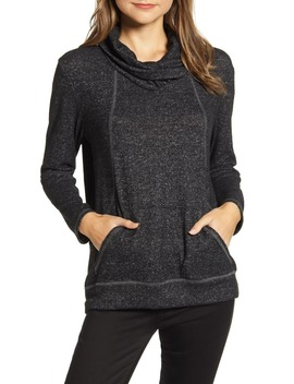 Cross Neck Seamed Pullover by Loveappella