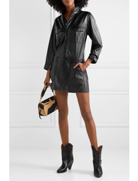 Leather Mini Dress by Frame