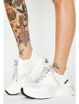Rerun Platform Sneakers by Nokwol