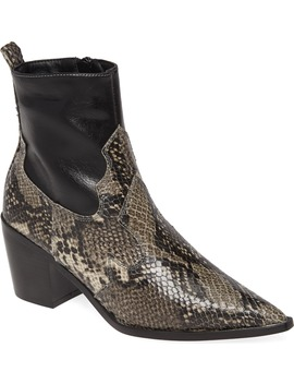 Bliss Western Boot by Topshop