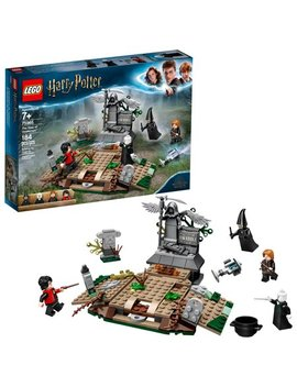 Lego Harry Potter The Rise Of Voldemort 75965 Wizard Battle Action Set (184 Pieces) by Lego