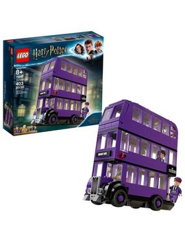 Lego Harry Potter The Knight Bus 75957 Triple Decker Toy Bus (403 Pieces) by Lego