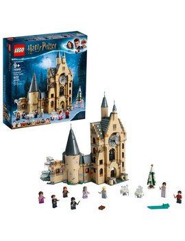 Lego Harry Potter And The Goblet Of Fire Hogwarts Castle Clock Tower 75948 by Lego