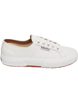 Superga Women's 2750 Nappaleau Leather Classic Shoes by Superga