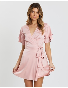 Laurice Ruffle Wrap Dress by Atmos&Here