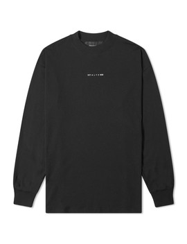 1017 Alyx 9 Sm Long Sleeve Visual Tee by 1017 Alyx 9 Sm