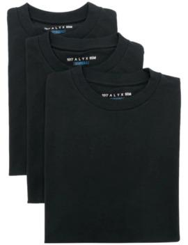 Set Aus Drei T Shirts Mit Logo by 1017 Alyx 9 Sm