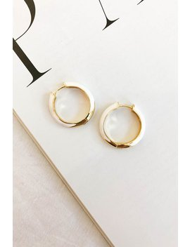 Stay Gold Hoops by Vergegirl