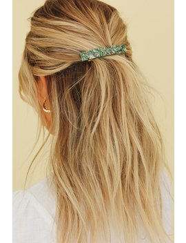 Leading Lady Hair Clip // Green by Vergegirl