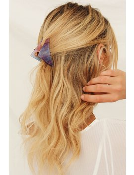 Star Struck Glitter Hair Clip by Vergegirl