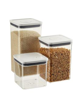 Oxo Good Grips Pop Square Canisters by Container Store