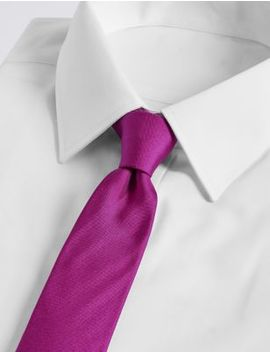 Pure Silk Tie by Marks & Spencer