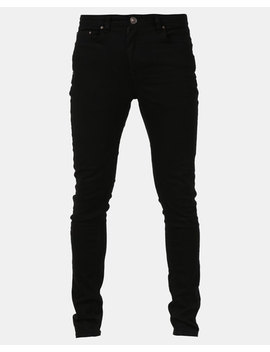 New Look Super Skinny Stretch Jeans Black by New Look