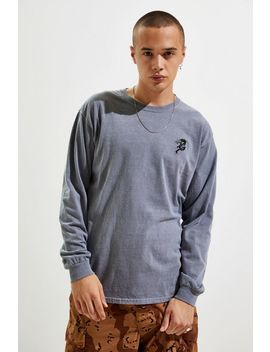 Embroidered Dragon Long Sleeve Tee by Urban Outfitters