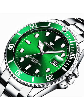 Men Watches 2019 Brand New Fngeen Steel Waterproof Quartz Wristwatch For Men Saat Date Week Display Luminous Hour Reloj Hombre by Ali Express.Com