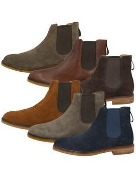 Clarks Clarkdale Gobi Men Schuhe Herren Stiefeletten Chelsea Boots Trend Stiefel by Ebay Seller