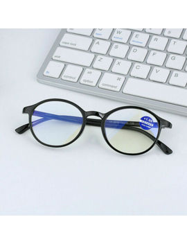 Anti Blue Light Reading Glasses Women Men Full Rim Glasses Computer Presbyopia by Unbranded