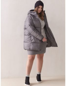 Puffect Mid Hooded Puffer Jacket   Columbia Puffect Mid Hooded Puffer Jacket   Columbia by Addition Elle