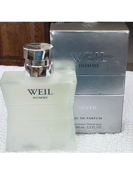 Weil Homme Silver 100 Ml / 3.3 Fl. Oz. Eau De Parfum Spray New Open Box by Ebay Seller