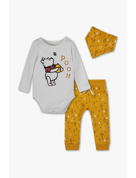 Winnie Puuh   Baby Outfit   Bio Baumwolle   3 Teilig by C&A